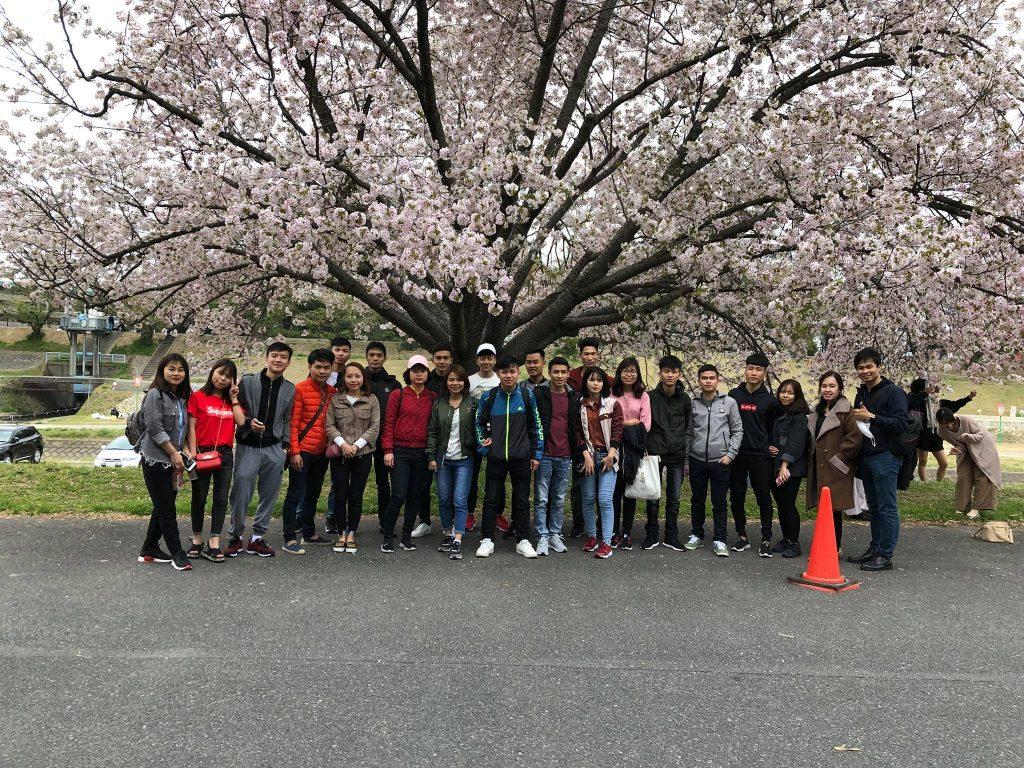 Một số du học sinh của chúng tôi đã nhập học trường Kagisen kỳ tháng 4/2018